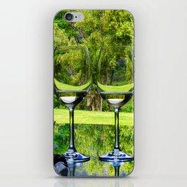 Wine tasting iPhone Skin