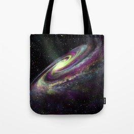 Unicorn Head Galaxy Tote Bag