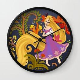Colorful life Wall Clock