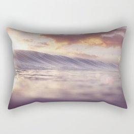 Pastel Ocean Sunrise Rectangular Pillow