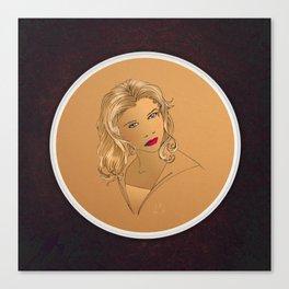 Buffy Summers Canvas Print