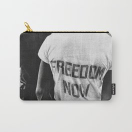 Freedom Now!,60s Carry-All Pouch