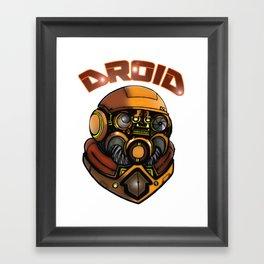 DROID77 Framed Art Print