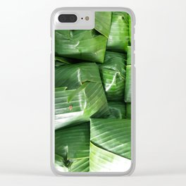 SINGAPORE FOOD - NASI LEMAK Clear iPhone Case