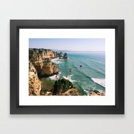 Algarve coast Framed Art Print