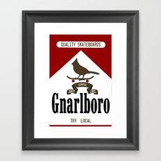 Gnarlboro Framed Art Print