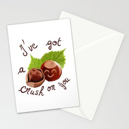 A crush on you / Je craque pour toi ! Stationery Cards