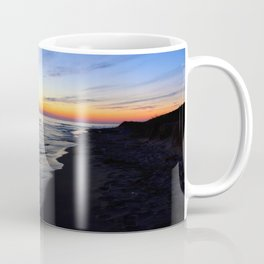 Sunset Over Lake Michigan Coffee Mug