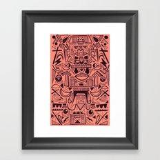 Figurate Framed Art Print