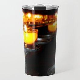 Church Candles Travel Mug