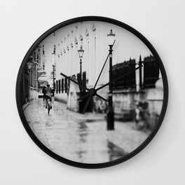 in the streets of Cambridge ... Wall Clock