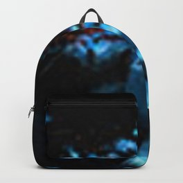 Abstract Black Blue Outer Space Galaxy Cosmos Jodilynpaintings Painting Backpack
