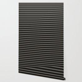 Black Ombre Stripes Wallpaper