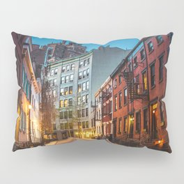 Twilight Hour - West Village, New York City Pillow Sham
