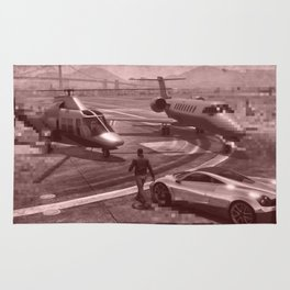 New But Old School GTA Rug