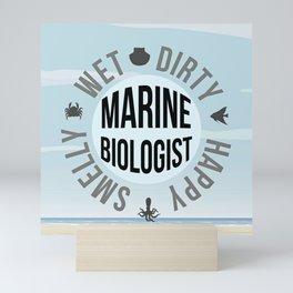 Marine Biologist Mini Art Print
