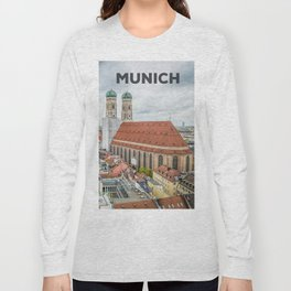 The Cathedral of Munich Long Sleeve T-shirt