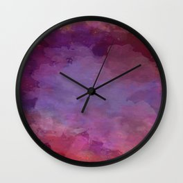 Power clouds. Wall Clock