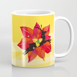 Happy Red Christmas - A Stroke of Good Fortune Coffee Mug
