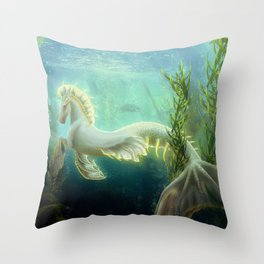 Sunstone Throw Pillow