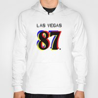 las vegas Hoodies featuring Las Vegas by Joe Alexander