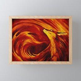Fire's Embrace Framed Mini Art Print