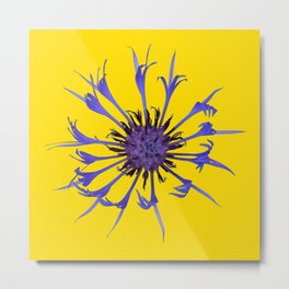 Thin blue flames Metal Print