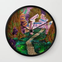 warcraft Wall Clocks featuring Welcome in Darnassus by Studinano by Shou'