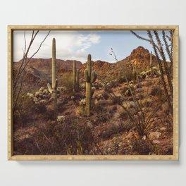 Saguaro Garden Serving Tray