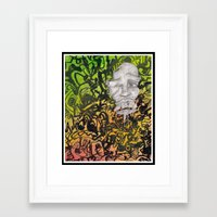 aperture Framed Art Prints featuring Aperture by DillonWire