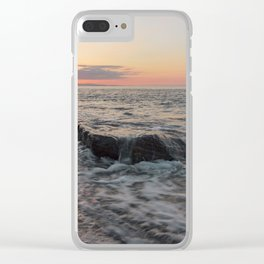 Close to the beautiful season Clear iPhone Case