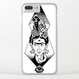 Viva la Frida Clear iPhone Case
