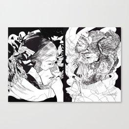 I'MFINEANDYOU? Canvas Print