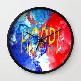 HOPP! - 2nd Part of ALLEZ! Wall Clock