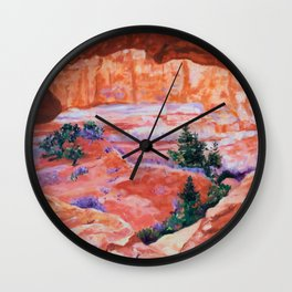 Arches in Moab Wall Clock