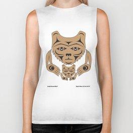 Spirit Bear & Cub by: Jody Broomfield Biker Tank