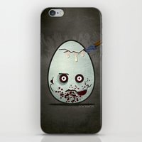 zombies iPhone & iPod Skins featuring Zombies by Marcos Lozano