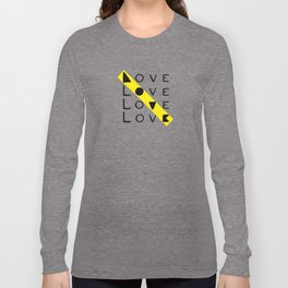 LOVE yourself - others - all animals - our planet Long Sleeve T-shirt