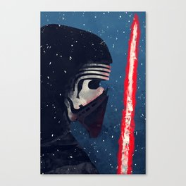 Kylo (Knight of Ren) Canvas Print