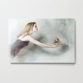 Death and the Maiden Metal Print