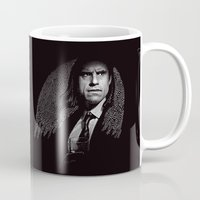 gangster Mugs featuring Gangster Engraving by George Peters