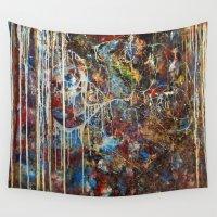 confetti Wall Tapestries featuring Confetti by Atziri