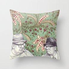 Old Men Throw Pillow