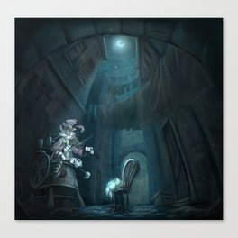 Hey Diddle diddle Canvas Print