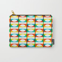 Geometric Pattern #171 (colorful circle squares) Carry-All Pouch