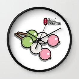 Food Lantern - Dango  Wall Clock