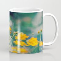 aperture Mugs featuring Orange Cosmos by Laura Ruth