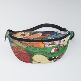 Kids and the Dragon Fanny Pack