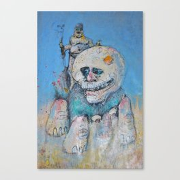 who Canvas Print