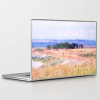horses Laptop & iPad Skins featuring Horses  by Truly Juel